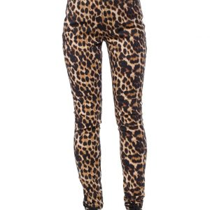 The Essential Pocket Pant in Leopard by Sourpuss AT Ill-Gotten Gains