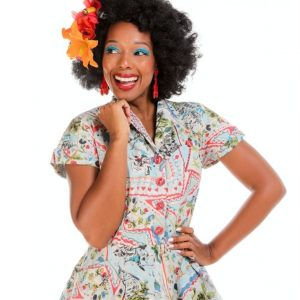 Postcard Print Shirt Dress BY LOVE YOUR LOOK AT ILL-GOTTEN GAINS
