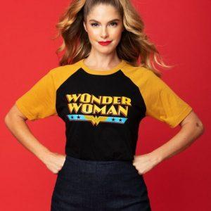 Wonder Woman x Unique Vintage Retro Logo Unisex Tee AT ILL-GOTTEN GAINS